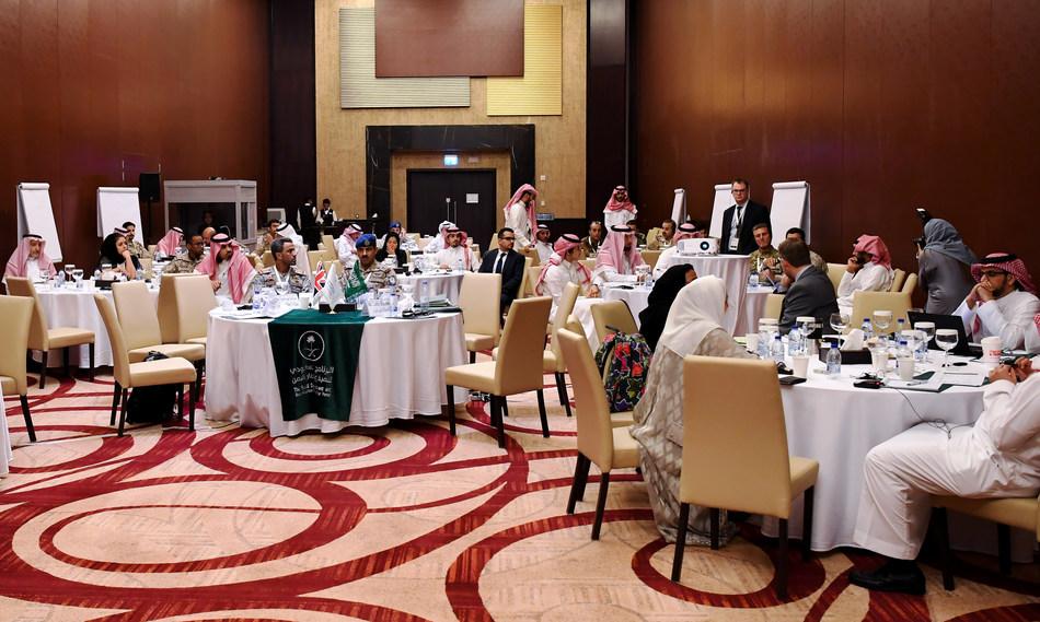 Participants in the 1st KSA-UK Workshop on Stabilisation, Riyadh, Saudi Arabia (14 Nov 2019)