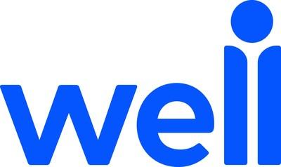 Well Logo - Blue (PRNewsfoto/Well)