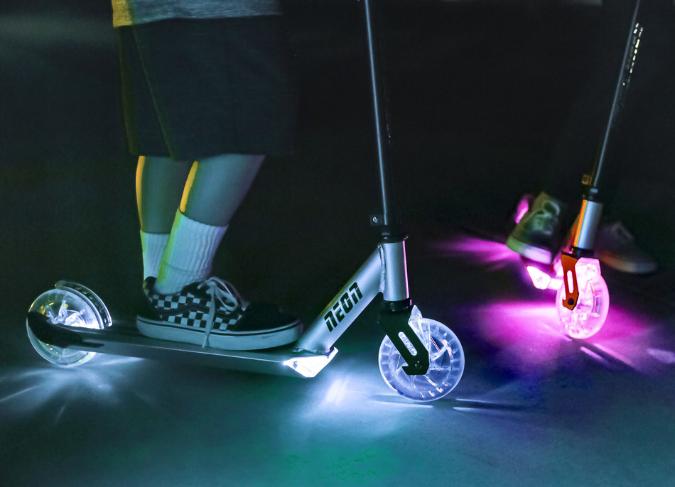 The new NEON Ghost available at Walmart. Photo credit: Yvolve Sports Ltd.