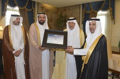 """沙特卫生部获WHO颁发5个""""健康城市""""证书"""