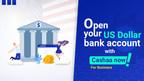 Le service bancaire crypto-compatible Cashaa a ajouté des comptes bancaires en USD