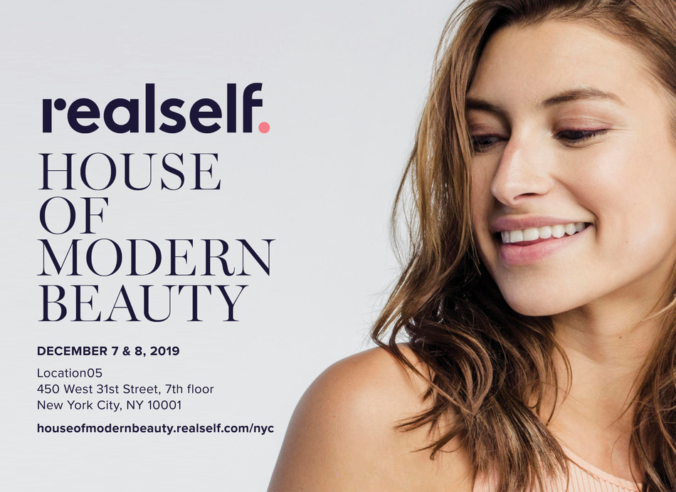 """RealSelf """"House of Modern Beauty"""" pop-up in NYC will feature cosmetic treatments and expert-led panel discussions."""