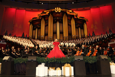 PBS and BYUtv to Air 16th Annual «Christmas with The Tabernacle Choir» Featuring Kristin Chenoweth this December