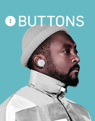 will.i.am Wears BUTTONS AIR True Wireless Earphone in New J. Balvin and Black Eyed Peas Music Video, Ritmo