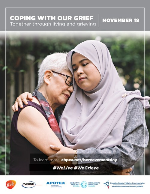 Poster for National Bereavement Day 2019 (CNW Group/Canadian Hospice Palliative Care Association)