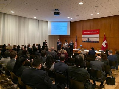 Mercuria Recognized by Swiss Embassy for its Apprenticeship Program for Veterans