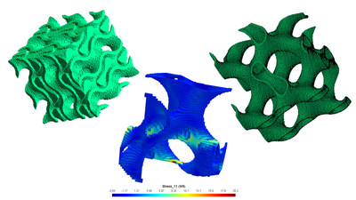 Siemens' acquisition of MultiMechanics integrates advanced modelling of failure and damage of 3D printed lattice structures and meta materials.