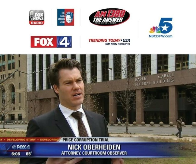 Dr. Oberheiden has been featured on many media outlets.