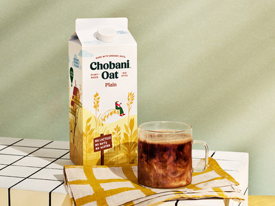 Chobani™ Oat Drinks are available in four classic flavors including Plain, Vanilla, Chocolate, and Plain Extra Creamy.