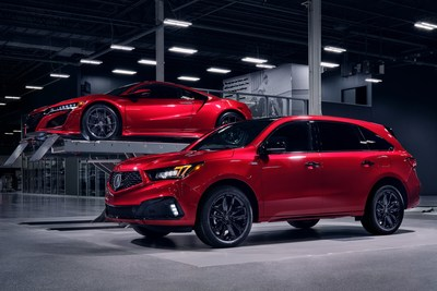 The MDX PMC Edition is the latest limited edition vehicle from Acura?s prestigious Performance Manufacturing Center (PMC) in Marysville, Ohio. (PRNewsfoto/Acura)