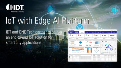IDT and ONE Tech partner to deliver end-to-end IoT platform that simplifies development of smart city applications.