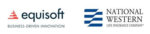Logos: Equisoft / National Western Life Insurance Company (CNW Group/Equisoft)