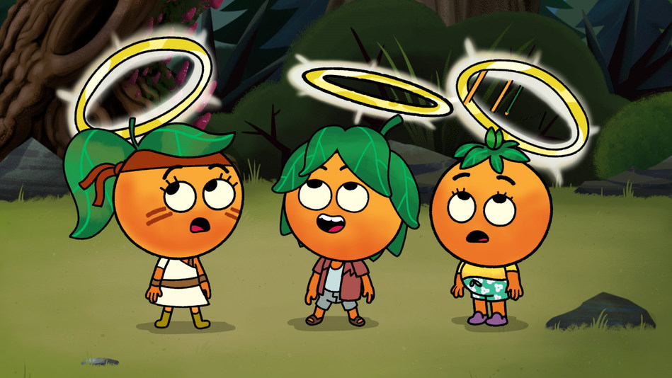 """Mandarin Campers Go To Earn Their Halos, One Good Choice At A Time in the """"Camp Halohead"""" Animated Entertainment Series Now Playing on YouTube"""