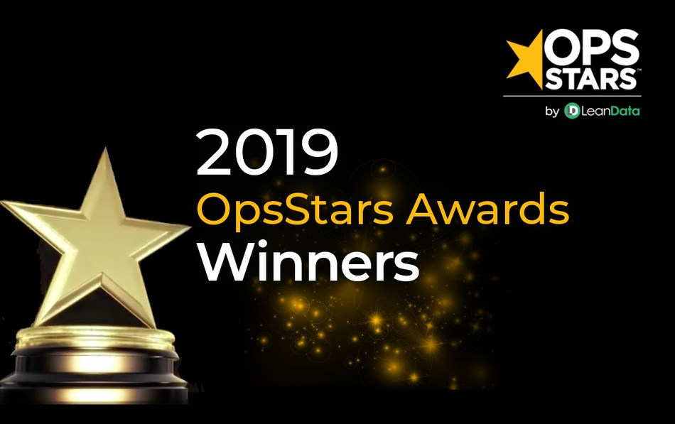 Winners of the the 2019 OpsStars Awards were announced from LeanData's 4th annual OpsStars conference taking place this week in San Francisco. The new industry recognition celebrates operations leaders forging innovative new paths to revenue growth in B2B.