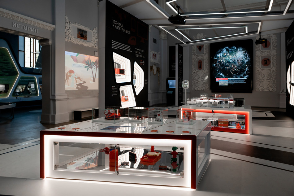 Absen LED at Russia's VDNKh Oil Pavilion