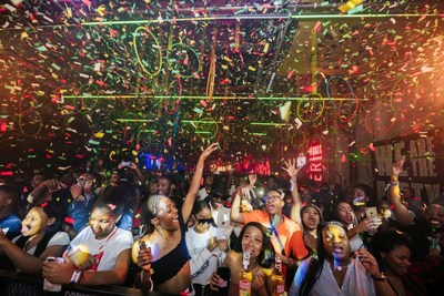 Thousands of partygoers flocked to 1 Fox in Johannesburg for Desperados' 'What The Fusion' party