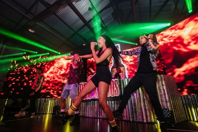 Multiple artists performed to celebrate the launch of Desperados in South Africa