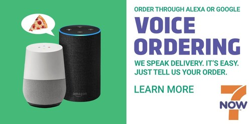 7-Eleven, Inc. continues to redefine convenience retailing with the launch of 7Voice, which allows customers to place an order through its 7NOW® delivery app via the voice-controlled Google Home and Amazon Echo systems.