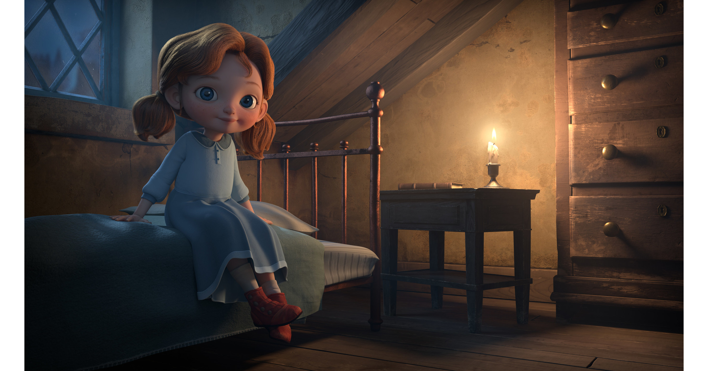 Beloved Animated Holiday Special ANGELA'S CHRISTMAS is Available Today on DVD and Digital Download