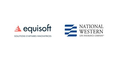 Logos : Equisoft / National Western Life Insurance Company (Groupe CNW/Equisoft)