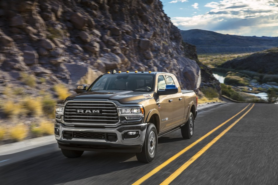 MotorTrend Names Ram Heavy Duty as its 2020 Truck of the Year®
