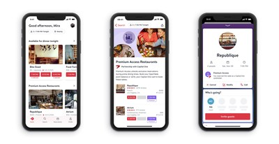OpenTable and Capital One bring cardholders Premium Access.