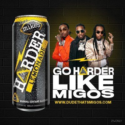 mike's HARDER Teams Up With Migos to Launch New Contest