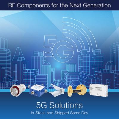 Pasternack 5G方案产品组合