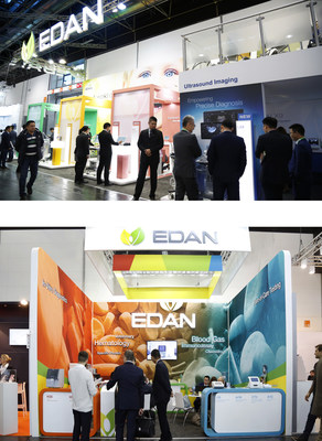 Edan showcased their latest products at MEDICA 2019