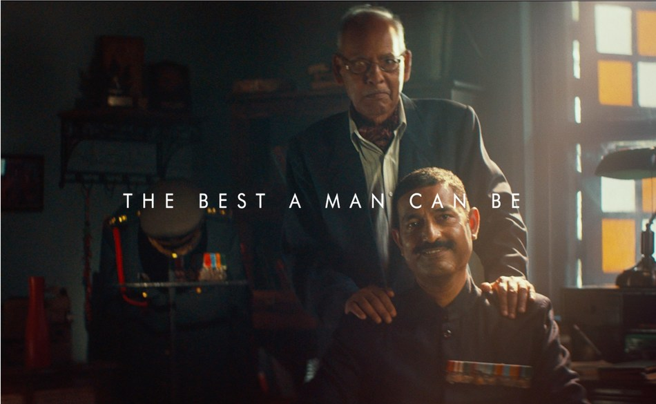 Stills from the new #ManEnough film