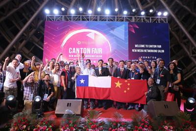 Compradores chilenos ajudam a expandir a influência da Feira de Cantão na América do Sul (PRNewsfoto/Canton Fair)