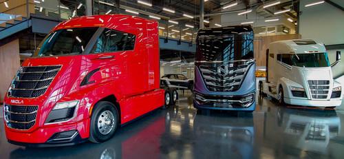 Nikola's Motor Company's commercial truck product portfolio includes the Nikola Two, Nikola Tre and Nikola One.  The company is headquartered in Phoenix.