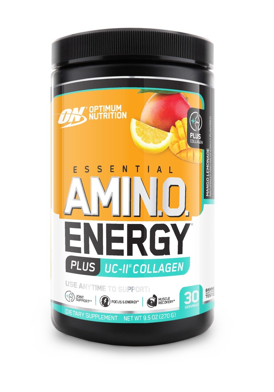 OPTIMUM NUTRITION introduces a new variety of its popular anytime energy beverage mix with UC-II® Collagen for Joint Support. ESSENTIAL AMIN.O. ENERGY PLUS UC-II® Collagen is available online and at nutrition retailers nationwide.