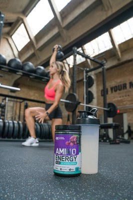 OPTIMUM NUTRITION ESSENTIAL AMIN.O. ENERGY PLUS UC-II® Collagen provides a combination of amino acids for muscle recovery, natural caffeine for energy and focus and collagen for joint support.