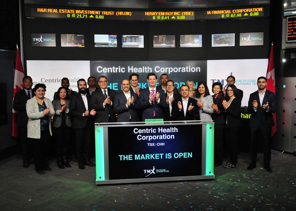 Centric Health Corporation Opens the Market (CNW Group/TMX Group Limited)