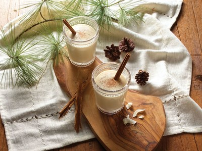 If you like coconut and eggnog, you'll love this authentic Puerto Rican beverage! Coquito is a thick and creamy tropical drink that mixes silky GOYA® Coconut Milk with sweet GOYA® Cream of Coconut, cinnamon and rum. Make it for your next holiday celebration and enjoy it with family and friends. Cheers!  Visit goya.com for the recipe.