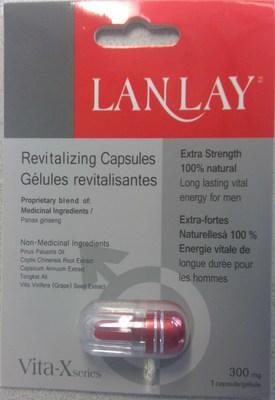 Vita-X Revitalizing Capsules (CNW Group/Health Canada)
