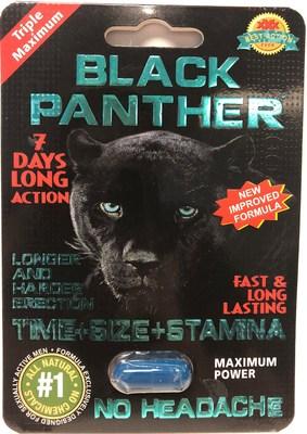 Black Panther (Groupe CNW/Santé Canada)