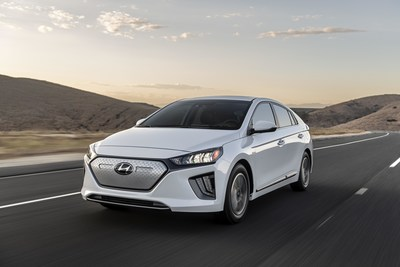 2020 IONIQ Electric Shows off Fresh Styling, Upgraded Interior and More Electric Range at Los Angeles Auto Show