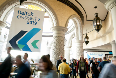 #DeltekProjectNation gathers at Deltek Insight 2019 in Orlando, Florida (PRNewsfoto/Deltek)