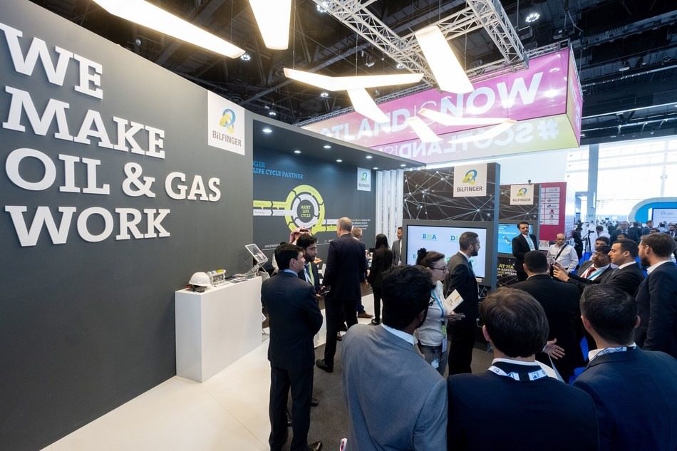 Bilfinger stand at the recently concluded ADIPEC 2019.