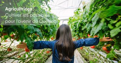 Le Conseil du statut de la femme propose un voyage sur les terres d'agricultrices québécoises. (Groupe CNW/Conseil du statut de la femme)