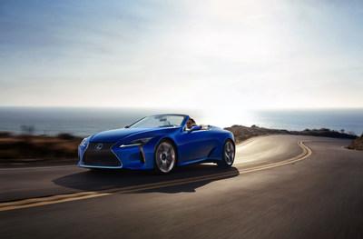El Lexus LC 500 Convertible 2021 hace su debut global en el Salón Internacional del Automóvil de Los Ángeles 2019