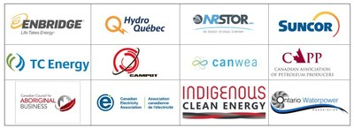 Canadian Energy Compendium 2019 - Contributors (CNW Group/Energy Council of Canada)