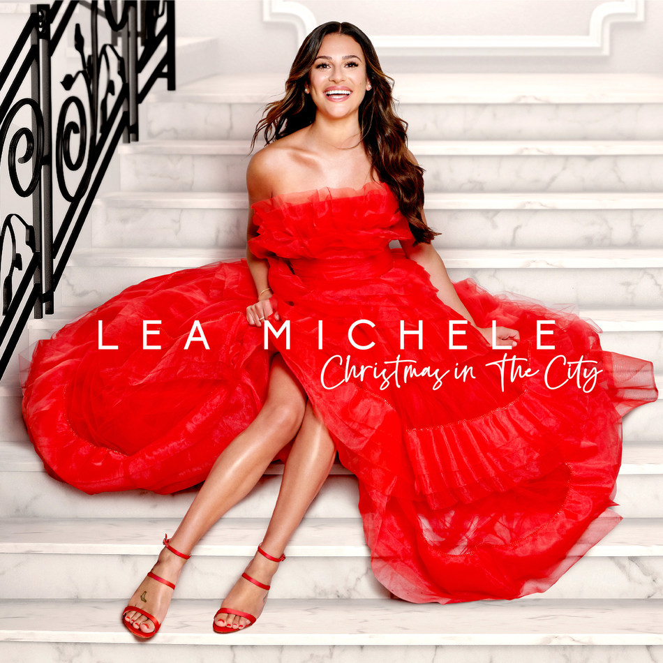 Lea Michele – Christmas in The City - Available Now  (high res included in link in press release)