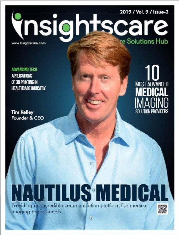 Insights Care Nautilus Medical cover story as number one Most Advanced Medical Imaging Solution Provider