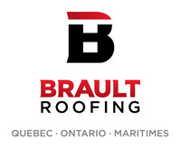 Logo: Brault Roofing (CNW Group/Brault Roofing)