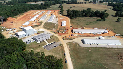 The Charles C. Miller Jr. Poultry Research and Education Center is located on a 30-acre site in north Auburn, Alabama. At present, it is in its final phase of construction, nearing a completion date in 2020.