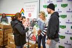 Adam and Caitlin Thielen Team Up with Jennie-O Turkey Store to Donate 1,000 Turkeys