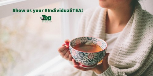 How do you drink tea? Share your photo, video or description on Twitter or Instagram with the hashtag #IndividualiTEA and tag @TeaCouncil for a chance to win $500, a year's supply of tea and a custom tea mug.